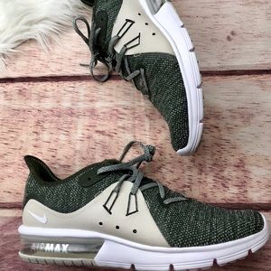 NEW Nike Air Max Sequent 3 Light Bone Sequoia